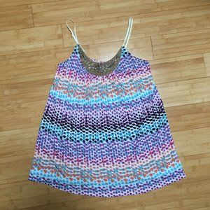 Candie's Multi-Color Tank Top